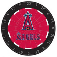 "MLB Los Angeles Angels18"" Bristle Steel Tip Dart Board w/Darts-Limited Quantity"