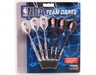 Set of 6 NBA Washington Wizards Steel Tip Darts & Flights with NBA Logo