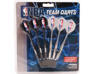 Set of 6 NBA Sacramento Kings Steel Tip Darts & Flights with NBA Logo
