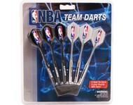 Set of 6 NBA Charlotte Bobcats Steel Tip Darts & Flights with NBA Logo