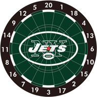 "NFL New York Jets 12"" Paper Dart Board With Darts-Limited Quantity!!"