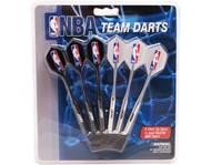 Set of 6 NBA Miami Heat Steel Tip Darts & Flights with NBA Logo