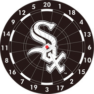 "MLB Chicago White Sox 12"" Paper Dart Board With Darts-Limited Quantity!!"