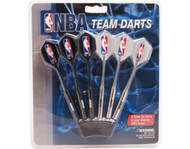Set of 6 NBA Phoenix Suns Steel Tip Darts & Flights with NBA Logo