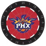 "NBA Phoenix Suns 18"" Bristle Steel Tip Dart Board-Limited Quantity!!"