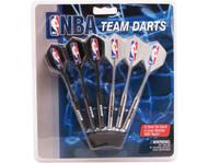 Set of 6 NBA Milwaukee Bucks Steel Tip Darts & Flights with NBA Logo