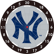 "MLB New York Yankees 12"" Paper Dart Board With Darts-Limited Quantity!!"