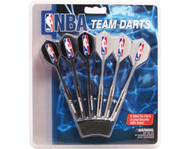 Set of 6 NBA New Orleans Hornets Steel Tip Darts & Flights with NBA Logo