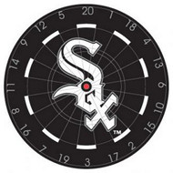"MLB Chicago White Sox 18"" Bristle Steel Tip Dart Board w/Darts-Limited Quantity!"