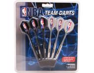Set of 6 NBA Philadelphia 76Ers Steel Tip Darts & Flights with NBA Logo