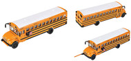 Walthers HO Scale Vehicle International(R) CE School Bus - Yellow, White