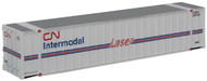 Walthers N Scale 48' Ribbed Side Intermodal Shipping Container Canadian National