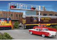 Walthers SceneMaster HO Scale Modern Cantilever Grade Crossing Signal 2-Lane