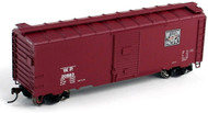 Athearn HO Scale 40' Youngstown Door Box Car Western Pacific/WP (Feather) #21049