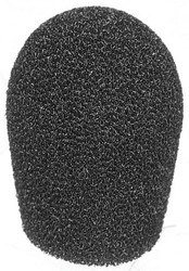Audio-Technica AT8131 Microphone Foam Lavalier Windscreen M8  - Black