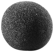 Audio-Technica AT8126 Microphone Foam Lavalier Windscreen - Black