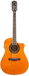 Fender® 300CE T-Bucket Cutaway Acoustic-Electric Guitar - Maple/Mahongany- Amber