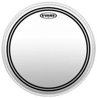 """Evans EC2 Series TT12EC2S Batter Two Ply 12"""" Clear Drumhead Drum Head"""