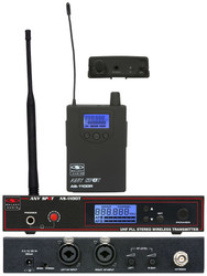 Galaxy Audio AS-1100 Any Spot Wireless Personal Monitor System 120 Channels/UHF
