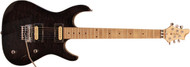 Guilford NPH-80 Custom Built Electric Guitar - Trans Black Top/Maple Neck - Prime Deal with Case