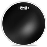 """Evans Black Series TT08CHR Batter Two Ply 8"""" Black Drumhead Drum Head"""