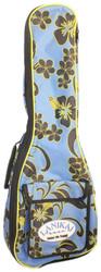 Lanikai Sidekick Tenor Size Ukulele Reinforced Soft Bag Floral Pattern