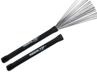 Regal Tip 500PLB Rubber Handle Metal Wire Drum Throw Retractable Brushes Sticks