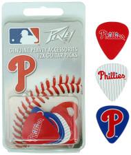 Peavey MLB Philadelphia Phillies  Guitar/Bass 12 Piece Pick Pack