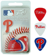 Peavey MLB Philadelphia Phillies  Guitar/Bass 12 Piece Pick Pack