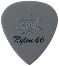 Pickboy Hi-Modulous Gray Reefer Nylon 66 Guitar/Bass Pick 0.88mm (10pk)