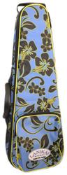 Lanikai Sidekick Baritone Size Ukulele Rigid Frame Hard Bag Floral Pattern