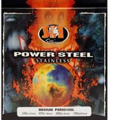 SIT PSR50105L Power Steel Bass Guitar Strings - Medium (50-105) - 3 PACK
