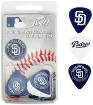 Peavey MLB San Diego Padres  Guitar/Bass 12 Piece Pick Pack
