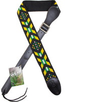 "Levy's M41P-005 2.5"" Stuffed Polyester Webbing Abstract Durable Strap"