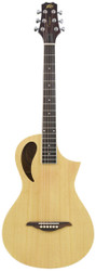 Peavey Composer Parlor Natural Acoustic/Electric Guitar with Gig Bag