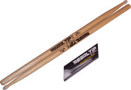 Regal Tip 105NT Classic Series Hickory/Nylon 5A Drum Set/Kit Drumsticks - 3 Pair