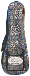 Lanikai Sidekick Soprano Size Ukulele Reinforced Soft Bag Tribal Pattern