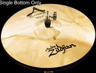 "Zildjian A20512 14"" A Custom Hi Hat - Bottom Drum Set Cymbal"