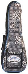 Lanikai Sidekick Tenor Size Ukulele Reinforced Soft Bag Tribal Pattern