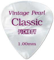 Pickboy Classic Vintage Pearl Cellulose Guitar/Bass Picks  1.00mm (10pk)
