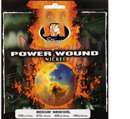 SIT NR50105L Power Wound Nickel Bass Guitar Strings - Medium (50-105) - 6 PACK