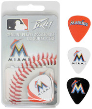 Peavey MLB Miami Marlins  Guitar/Bass 12 Piece Pick Pack