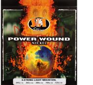 SIT NR545125L Power Wound Nickel Bass Guitar Strings - 5-String Light (45-125)