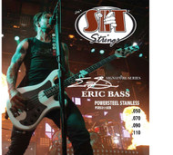 SIT PSR50110EB Eric Bass Guitar Power Steel Signature Strings - 6 PACK