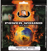 SIT NR45105L Power Wound Nickel Bass Guitar Strings - Medium Light (45-105)