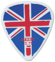 Pickboy Union Jack Flag Celltex Guitar/Bass Picks 0.75mm (10pk)