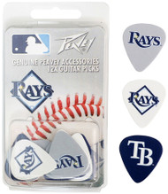 Peavey MLB Tampa Bay Rays  Guitar/Bass 12 Piece Pick Pack