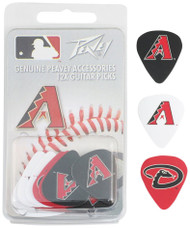 Peavey MLB Arizona Diamondbacks  Guitar/Bass 12 Piece Pick Pack
