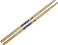 Regal Tip 025E E Series Hickory/Nylon 5B-E Wood Drum Set/Kit Drumsticks - 3 Pair