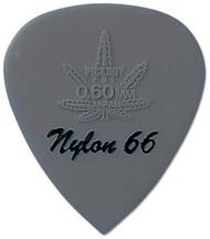 Pickboy Hi-Modulous Gray Reefer Nylon 66 Guitar/Bass Pick 0.60mm (10pk)